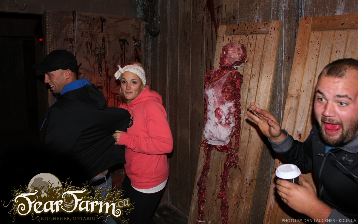 Fearfarm.ca Haunted House Reactions