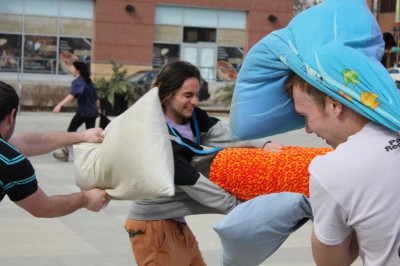 Pillow Fight Day Kitchener-Waterloo 2013